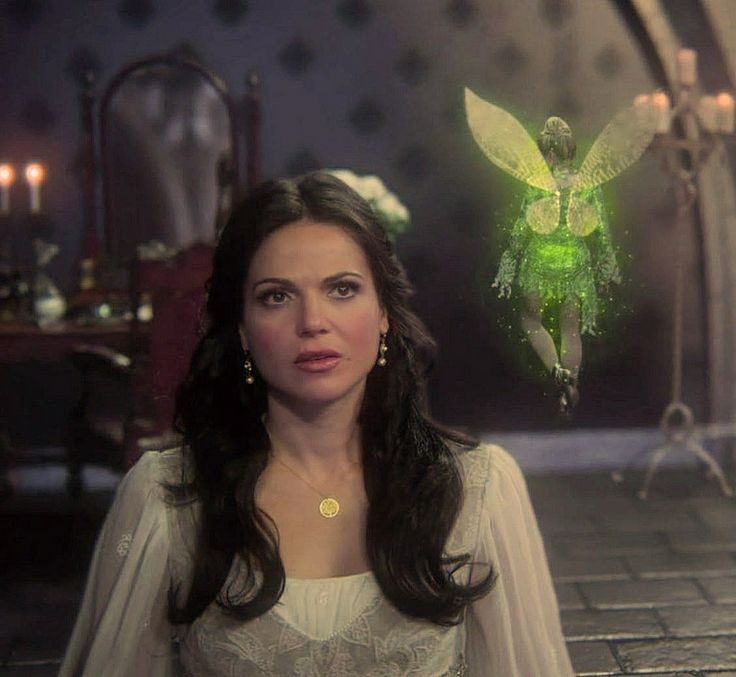 Lana Parrilla as Evil Queen / Regina Mills and Rose McIver as Tinker Bell in Once Upon a Time, Season 3, Episode 3 - Quite a Common Fairy