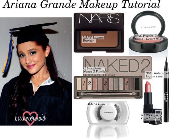 Senior portraits makeup look