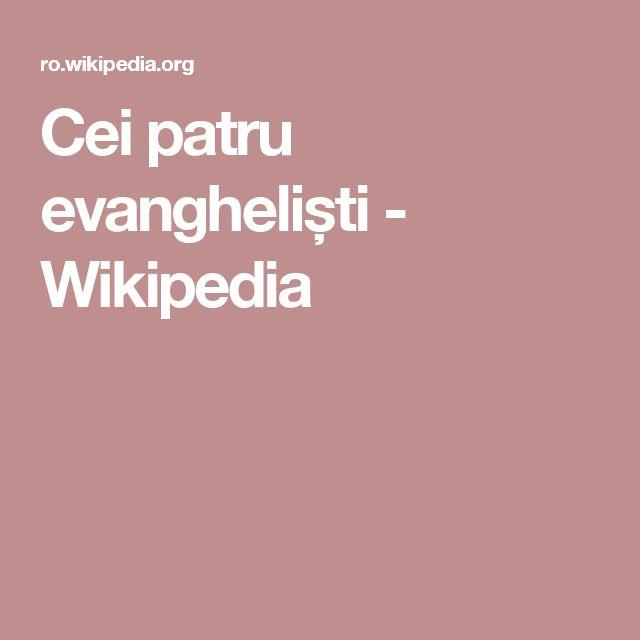 Cei patru evangheliști - Wikipedia