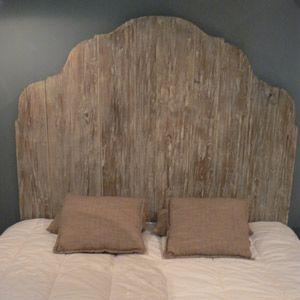 65 best chambre lit mam ses projets images on pinterest home bedroo - Tete de lit planche bois ...