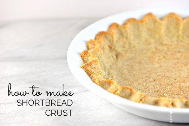 Shortbread Crust Recipe from Add A Pinch