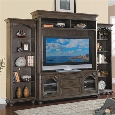 Riverside 15840 Belmeade Entertainment Wall Discount Furniture At Hickory  Park Furniture Galleries