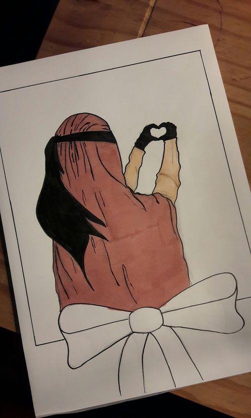 hijab, islam, and jilbab image