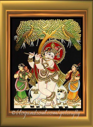 Tanjore Painting – How to do?