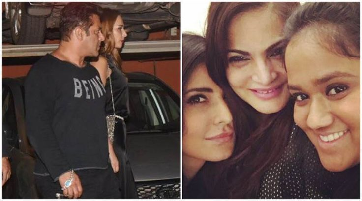 See inside pictures of Arpita Khan Sharma's anniversary party. Salman Khan, Katrina Kaif, Iulia Vantur were all present