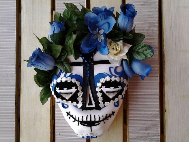 CABEZA CATRINA/CATRINA MEXICAN HEAD de DOITFORNELE por DaWanda.com