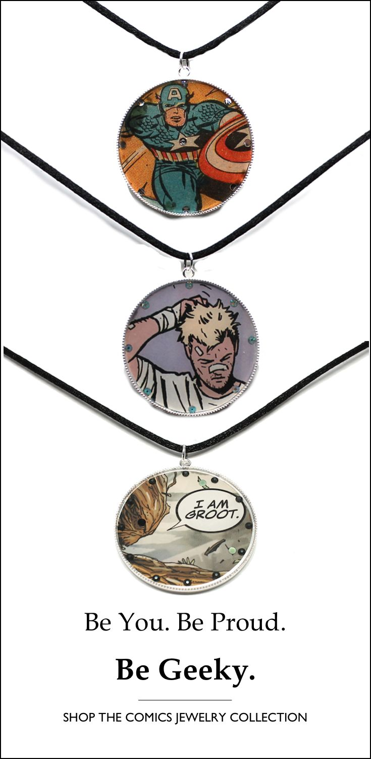 Showcase your passion for comics and fashion! Your favorite artists and stories, forever wearable. Six collections to choose from, with more on the way. When you wear Studio Kittie, you Wear Your Inner World. #comics