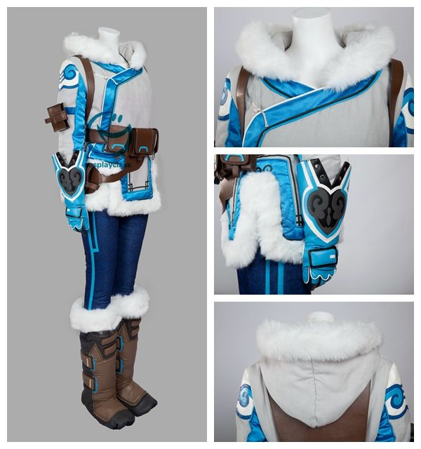 Overwatch OW Mei  Cosplay Costume #overwatch #DrMei #cosplay #costume