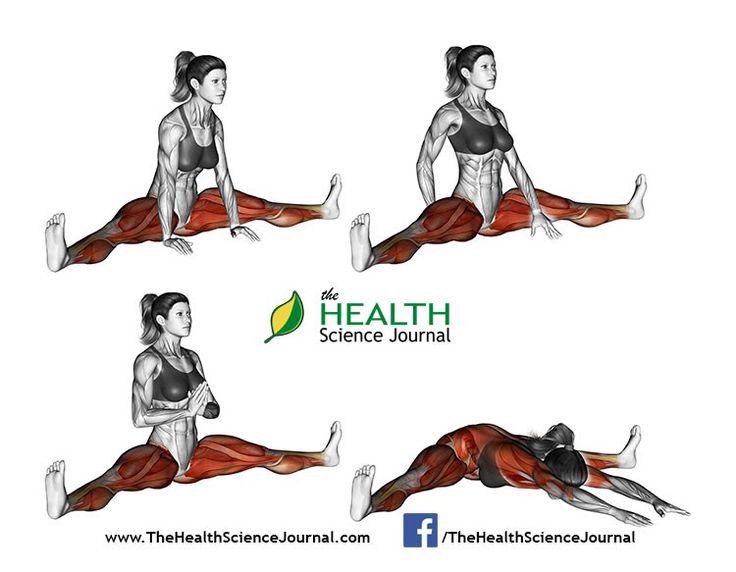 © Sasham   Dreamstime.com - Yoga exercise. Spread Leg Forward Fold. Upavista Konasana. Female