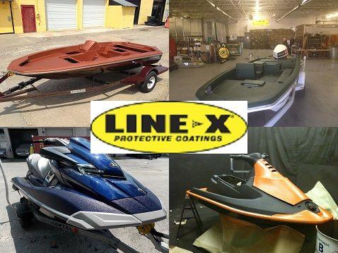 Line-X marine applications.