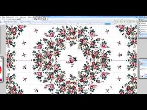 Видео МК - Создаем принт в стиле пэчворк. . Обсуждение на LiveInternet - Российский Сервис Онлайн-Дневников