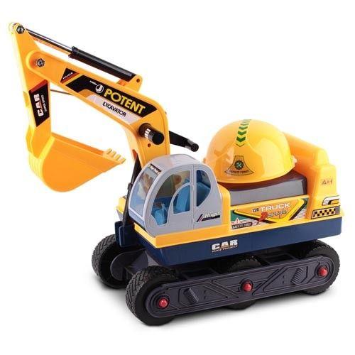 Kids Ride On Excavator Sand Digger Children Car Sand Play Toddler