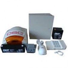 Kit format dintr-o centrală PC585 (tastatura inclusă), transformator TC20/16, un acumulator PL-5AH și unul PL-2,3AH, un detector LC100PCI cu suport original LCMBS, o sirenă de exterior LADY-PI, un contact magnetic aparent MC-08W