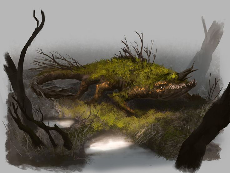 Swamp Creature by MarkTarrisse.deviantart.com on @DeviantArt