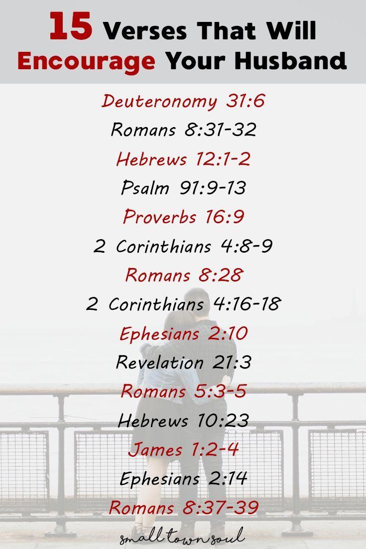 15 verses to encourage