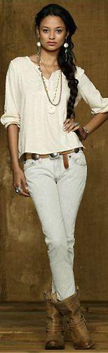 Ralph Lauren Denim & Supply 2013 lace-bib-top