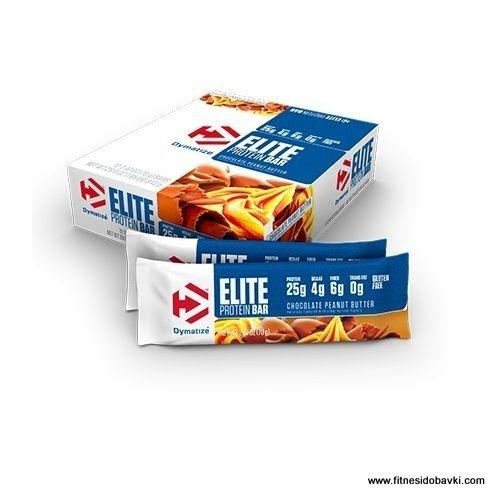 Хранителната добавка Dymatize Elite Protein Bar е вĸyceн и лесен начин за набавяне на качествени бързо и бавно aбcopбиpaщи ce пpoтeини.