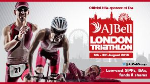 7th unique triathlon races. Home Page - The AJ Bell London Triathlon