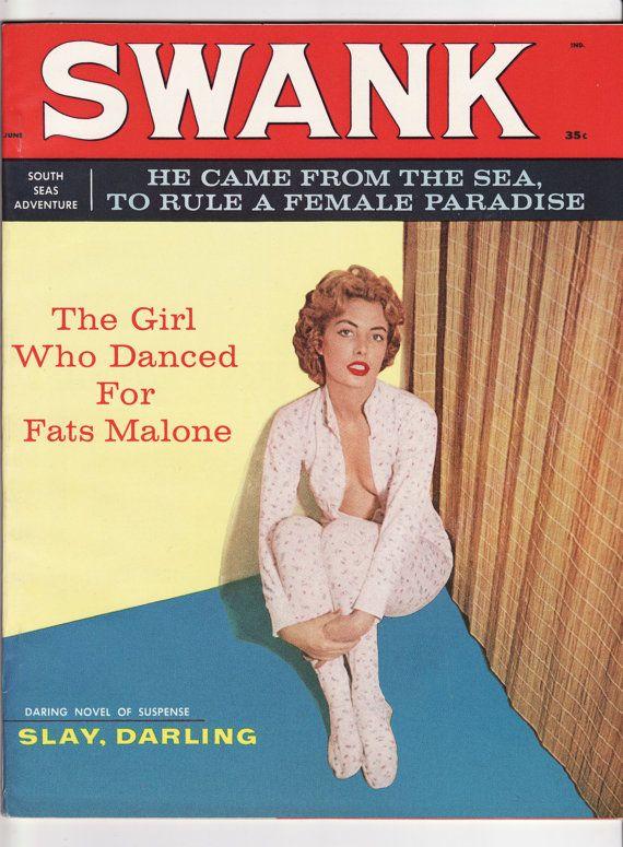 Vintage Swank Magazine June 1959 Vf 8 5 Unread See My