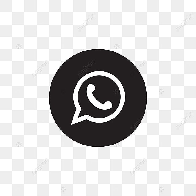 Whatsapp Social Media Icon Design Template Vector Whatsapp Icon Whatsapp Clipart Whatsapp Icons Social Icons Png And Vector With Transparent Background For F In 2021 Social Media Icons Icon Design Black