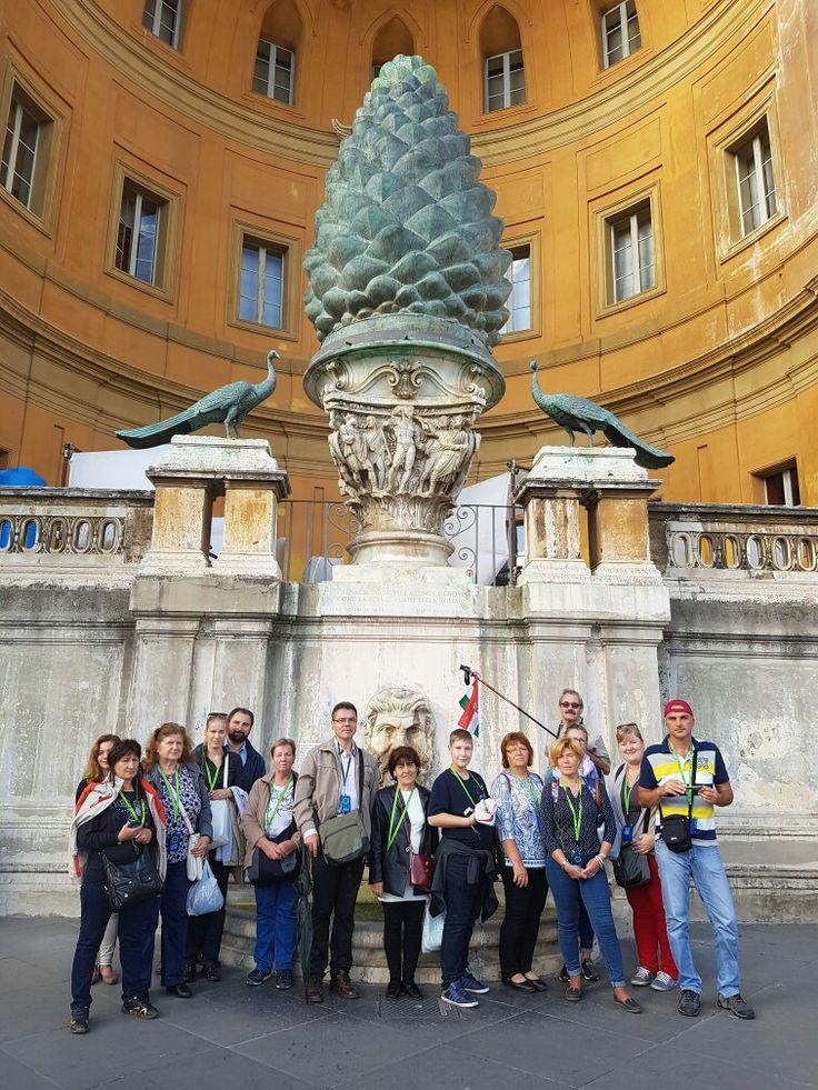 Róma, Vatikáni múzeumok, Látogatás 2016-ban, 22 fős zarándokcsoporttal