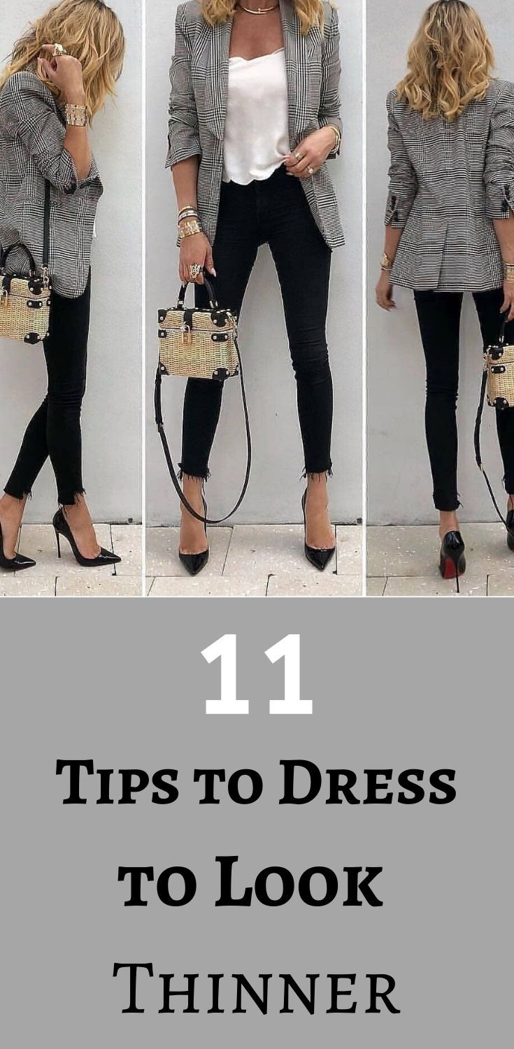 how to dress better instead of dieting