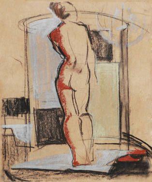 """Saatchi Art Artist Olga Rogozina; Drawing, """"Nude"""" #art"""