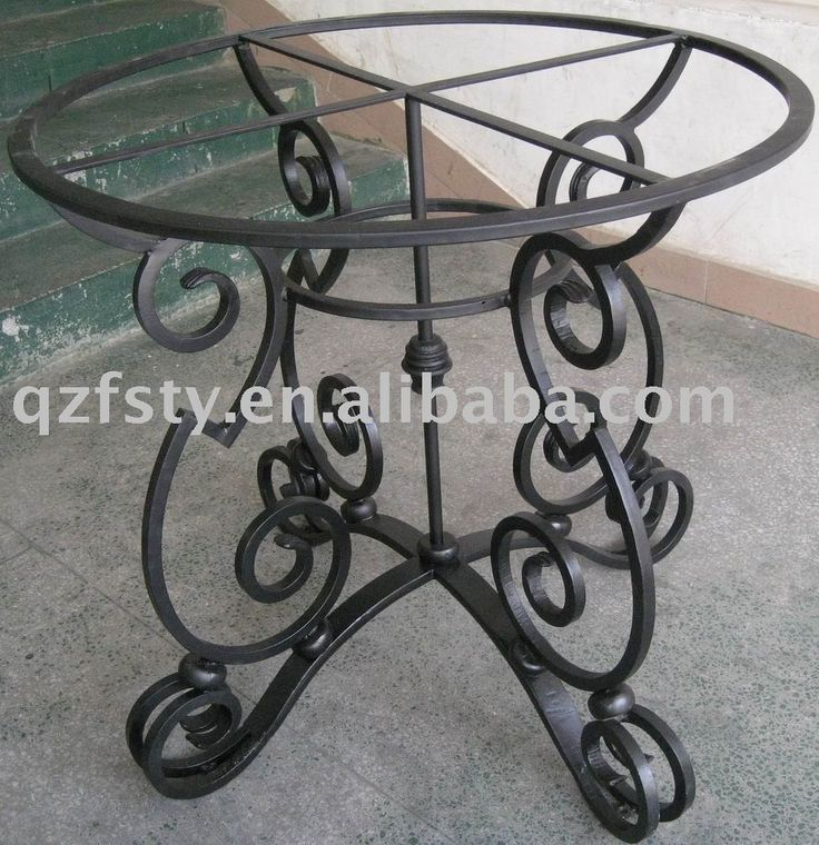 wrought iron table base $120~$500