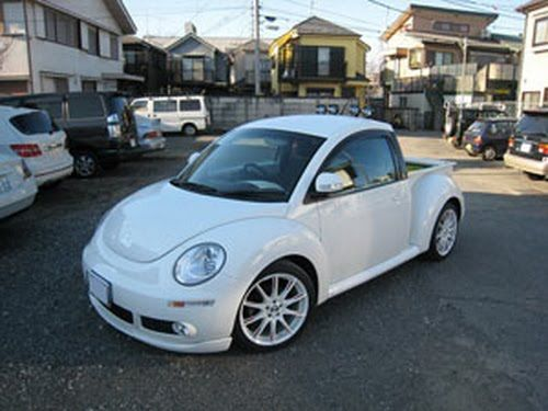 New Beetle pickup conversion can haul more flowers