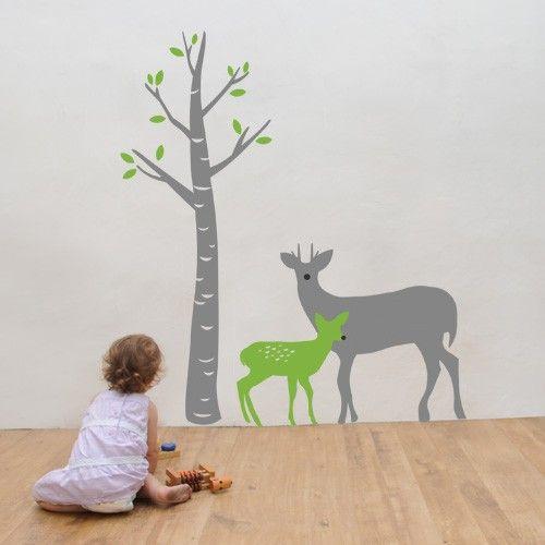Best Deer Wall Decals Images On Pinterest Animal Wall Decals - Bambi love tree wall decals