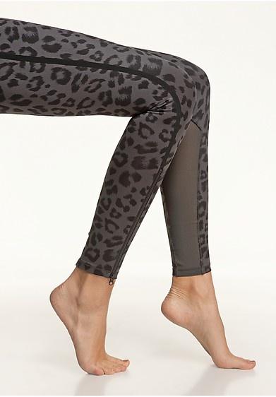 nike leopard running tights