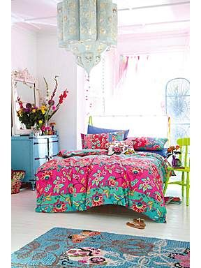 Accessorize Fable folksy multi-bright bed linen sets - House of Fraser