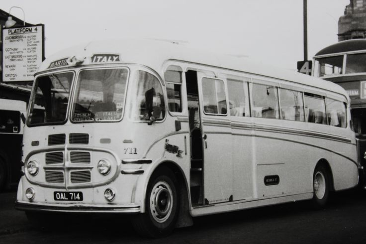 Barton Transport - The 1950s coaches. Fleet number 711, a Plaxton bodied Barton BTS1