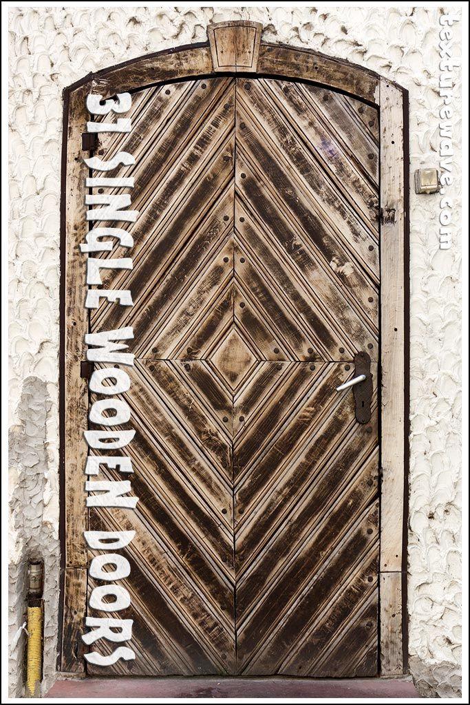 31 Wooden SIngle Doors textures ready for download texturewave.com