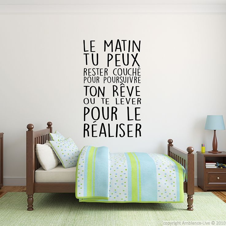 25 best ideas about stickers sur pinterest for Stickers phrase chambre adulte
