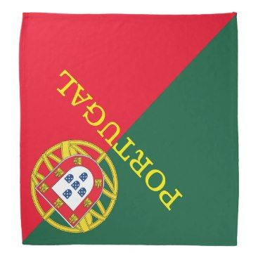Portuguese flag quality bandana Zazzle_bandana