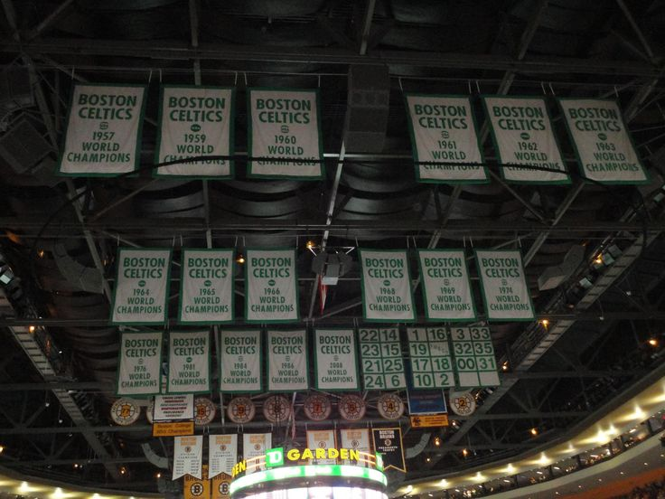 Boston Celtics Banners Wallpaper