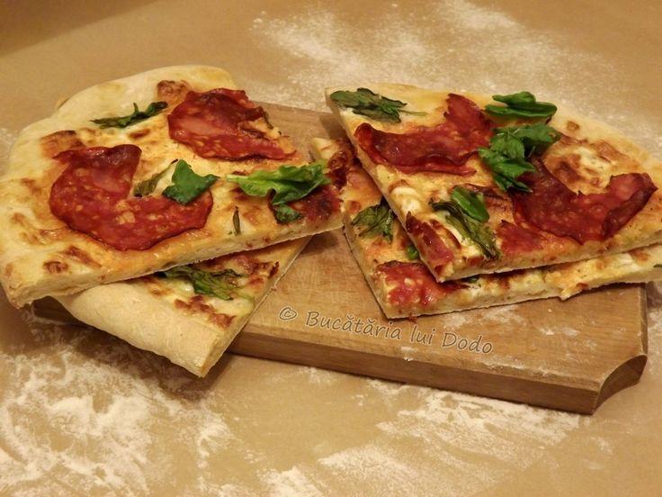 Pizza cu smântână