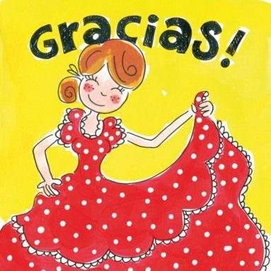Een Spaans bedankje- Greetz
