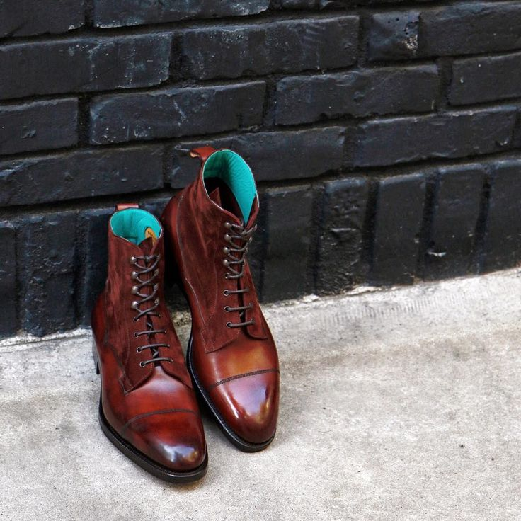 Graphic Edward Green Galway . Men's Boots