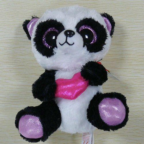 """TY BEANIES BOOS pludh doll Panda Cutie Pie 6/"""""""