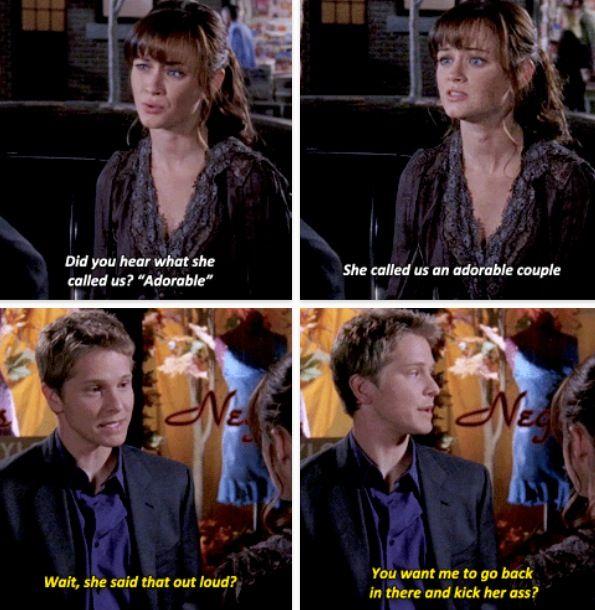 I miss Rory and Logan.