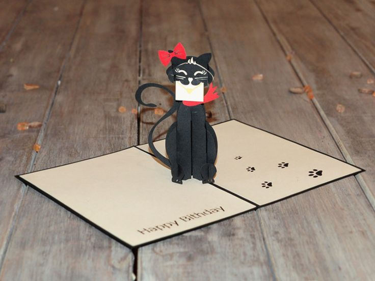 Love kitten pop up card is most suitable for couples, or for anyone who loves the beauty of the kitten on their birthday. Check out this product at http://purepopcards.com/product/love-kitten-pop-up-card/ #popupcardaus #popupcardsydney