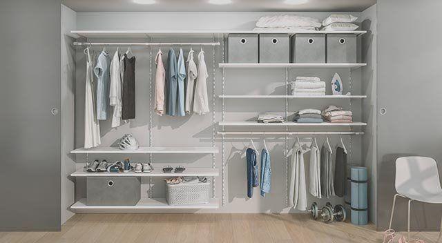 Schranksysteme Individuell Konfigurieren Regalraum Vintage Schlafzimmer Ideen Schranksystem Abfalleimer