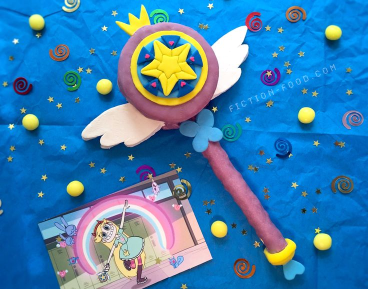 """Fiction-Food Café: Star Butterfly's Magic Wand from """"Star vs. the Forces of Evil"""""""