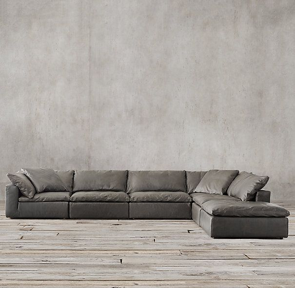 1000 Images About Leather Sectional Sofas On Pinterest