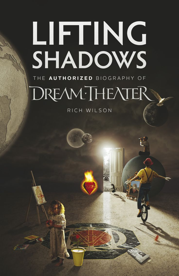 Lifting Shadows, the authorized biography of Dream Theater – the American progressive-metal band comprising James LaBrie, John Petrucci, Jordan Rudess, John Myung and Mike Mangini – traces the band's