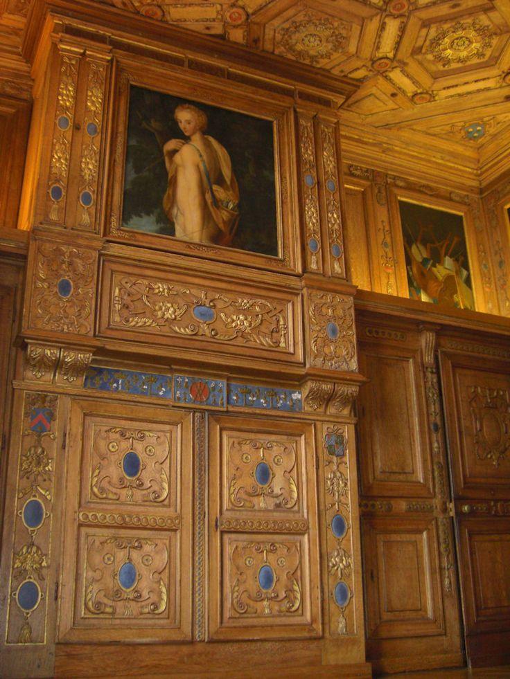 Cabinet des grelots, Chateau de Beauregard