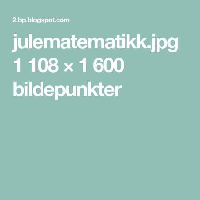 julematematikk.jpg 1108 × 1600 bildepunkter