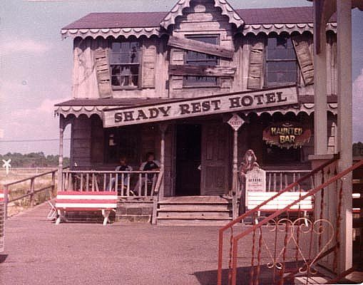 Shady Rest Hotel at Petticoat Junction amusement park, Panama City Beach, Florida by stevesobczuk, via Flickr